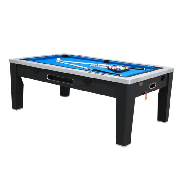 6 in 1 Multi Game Table Black 1