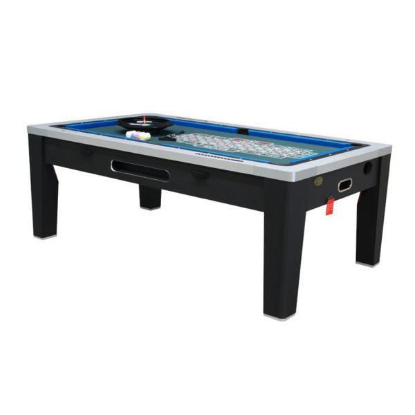 6 in 1 Multi Game Table Black 2
