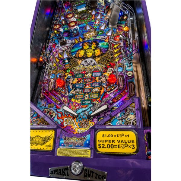 Aerosmith Pro Pinball Machine Playfield 2