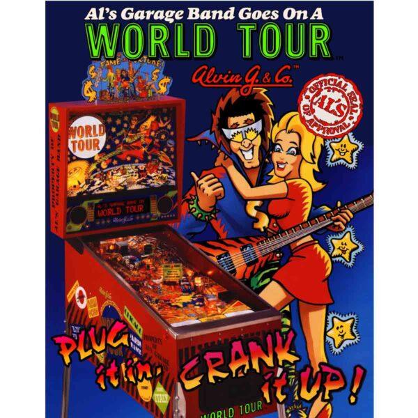 Als Garage Band Pinball Flyer