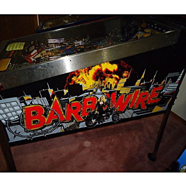 Barb Wire Pinball Machine by Gottlieb