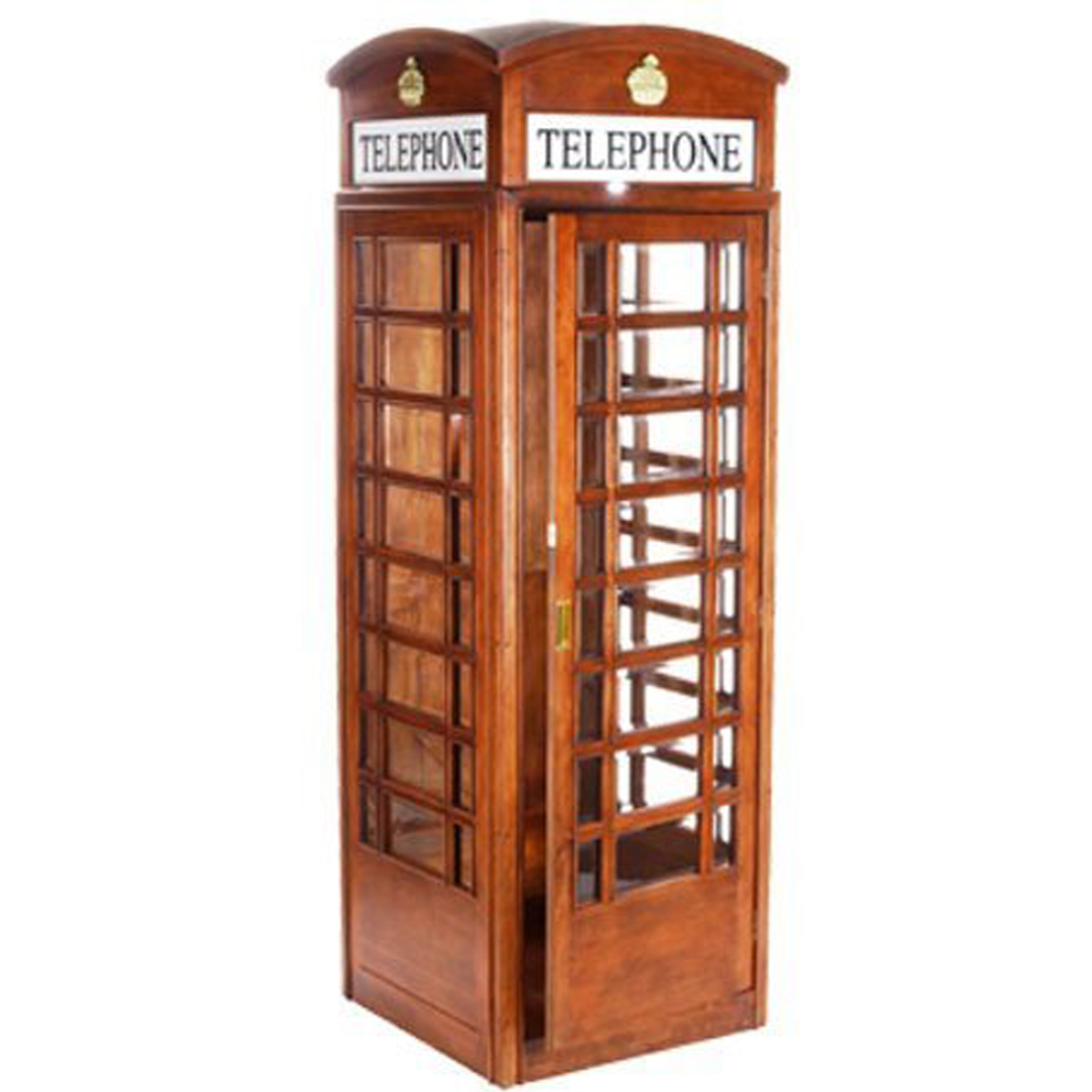 English Style Telephone Booth In Mahogany Elite Home