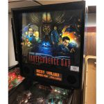 Independence Day Pinball Backglass