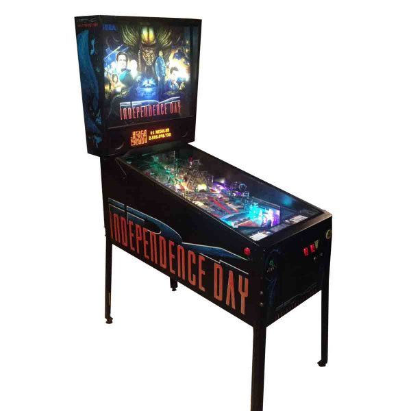 Independence Day Pinball Cover