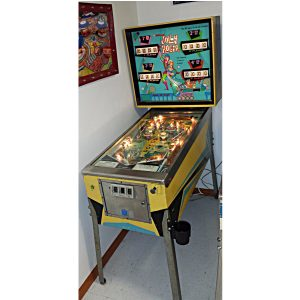Jolly Roger Pinball by Williams Electronics