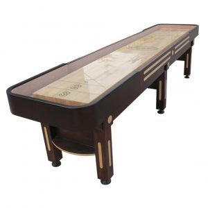 The Majestic Shuffleboard Table - Walnut