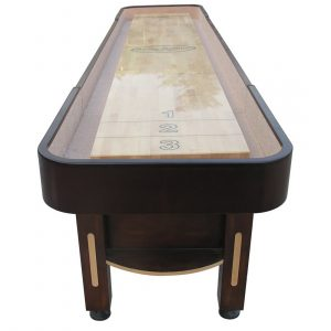 The Majestic Shuffleboard Table Walnut