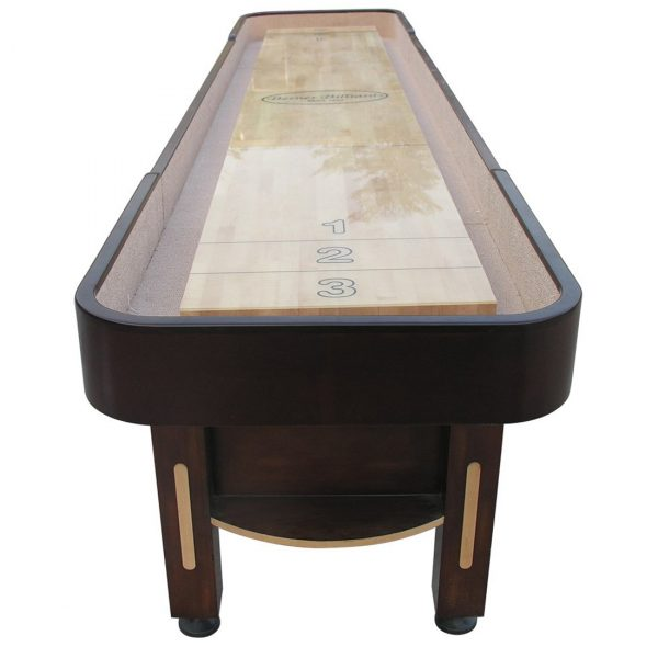 The Majestic Shuffleboard Table Walnut 2