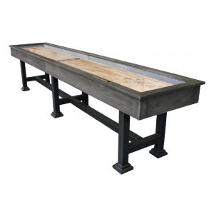 The Urban Shuffleboard Table Midnight Dark