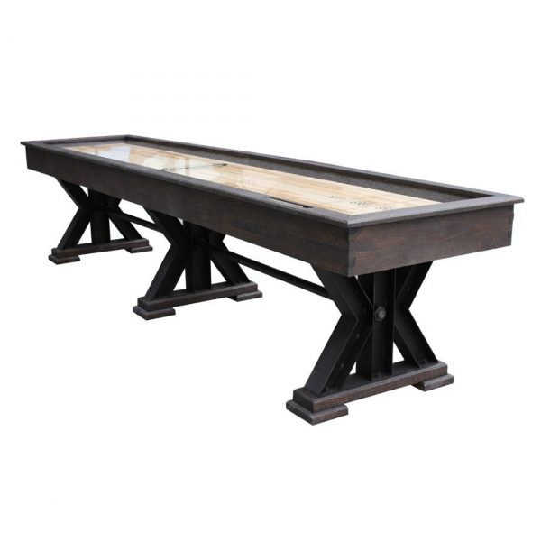 The Weathered Shuffleboard Table 1