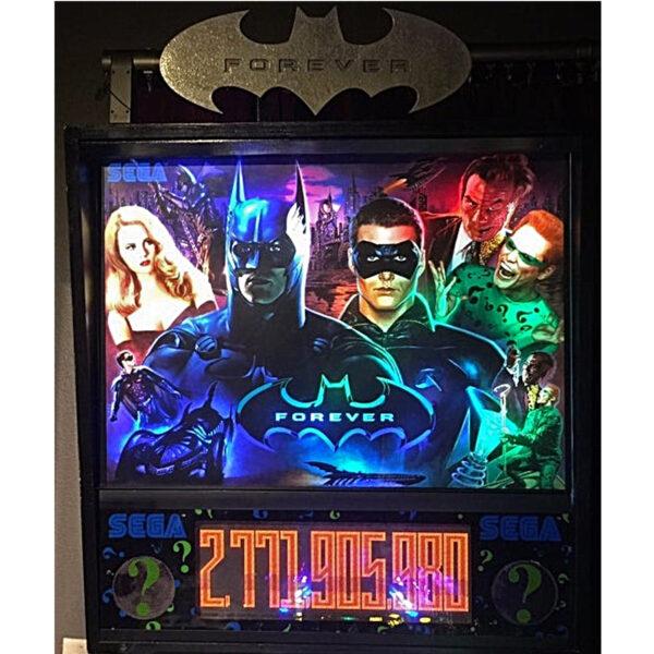 Batman Forever Pinball Backglass