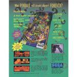 Batman Forever Pinball Flyer 2