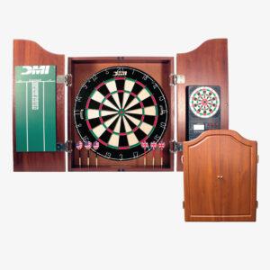 Dartboard Cabinet w/ Electronic Scorer