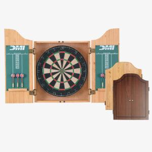Deluxe Dartboard Cabinet Set