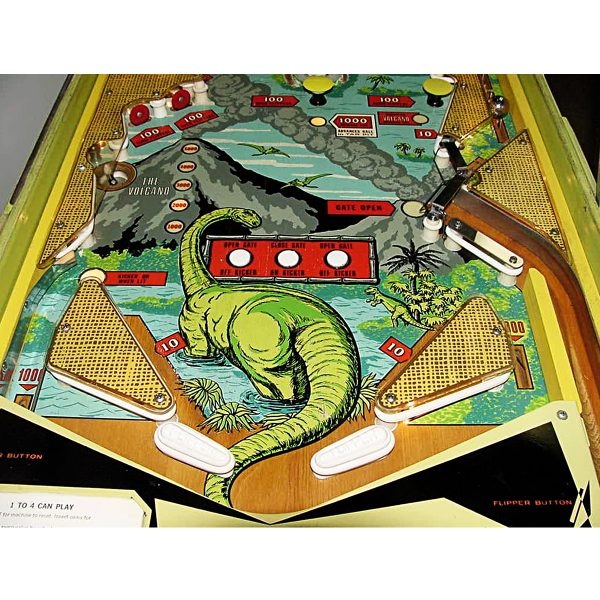 Four Million BC Pinball Machine 3
