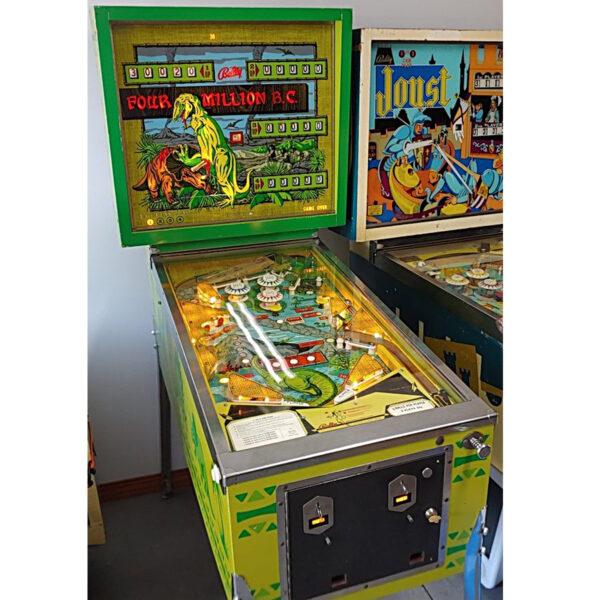 Four Million BC Pinball Machine 7