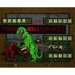 Four Million BC Pinball Machine Backglass 2