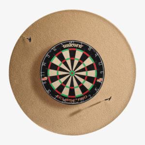 "HJ Scott 36"" Dart Backboard Round"