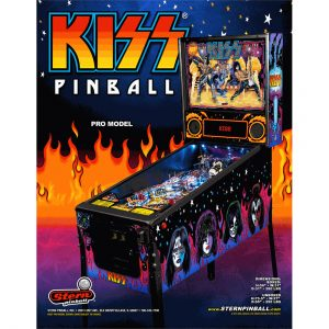 Kiss Pro Pinball Machine by Stern