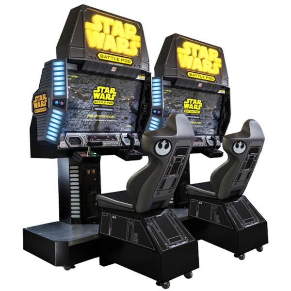 Star Wars Battle Pod Arcade Cover