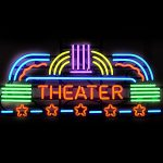 Theater Neon Sign