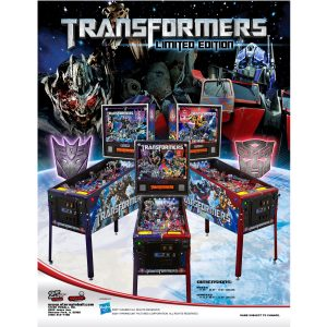 Transformers Decepticons Pinball Flyer