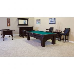 Alicante Pool Table by C.L. Bailey Co