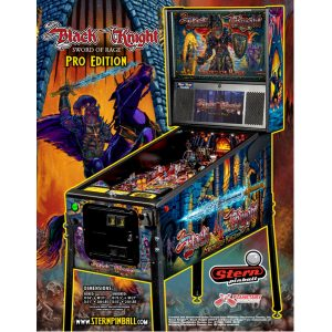Black Knight Pro Pinball Flyer
