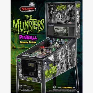 Munsters Premium Pinball Flyer