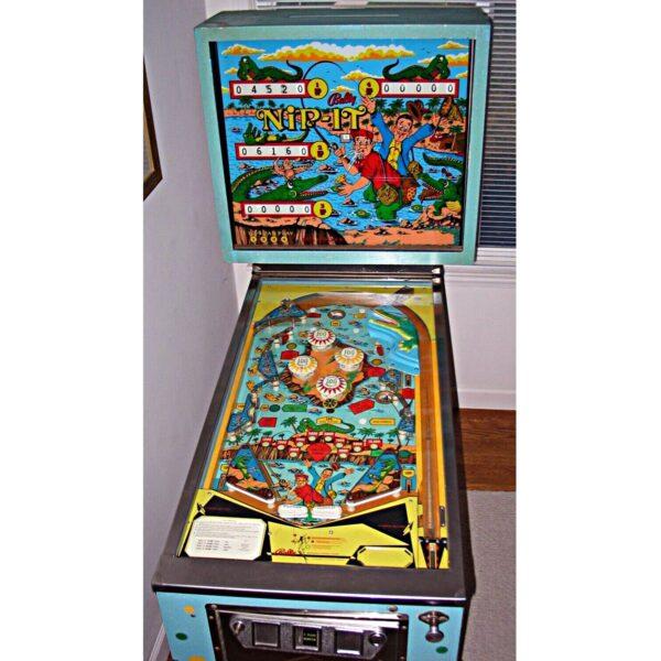 Nip It Pinball Machine by Bally