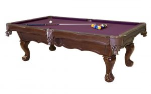 Bella Marie Pool Table 300x188 - Lucasi Custom Carom Pool Cues