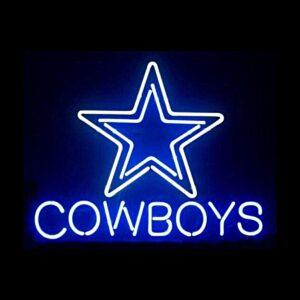 Dallas Cowboys Neon Sign