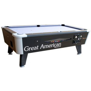 Great American Black Diamond Pool Table