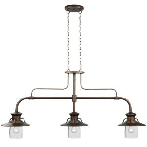 Industrial Style Billiard Light Fixture