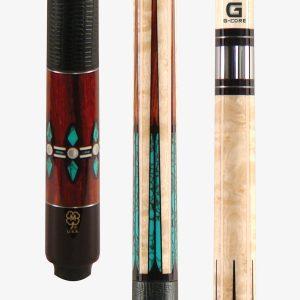 McDermott Pool Cues - 6 Point Turquoise