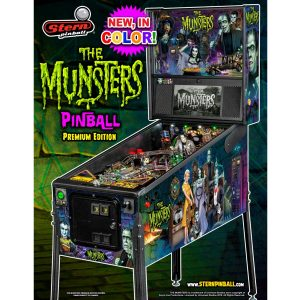 Munsters Premium Pinball Color Edition Flyer