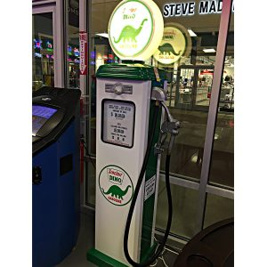 Sinclair Dino Replica Gas Pump