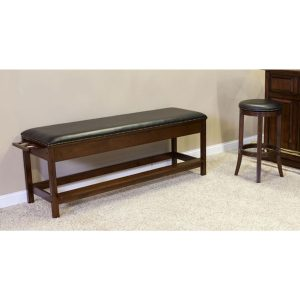 Winslow Billiard Storage Bench by C.L. Bailey