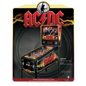 AC/DC Pro Pinball Machine by Stern