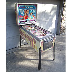 Old Chicago Pinball Machine by Bally